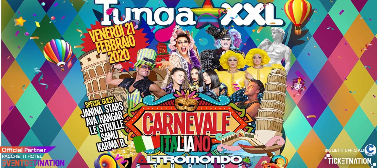 tunga xxl carnevale altromondo studios 21 02 2020 ticket e pacchetti-min