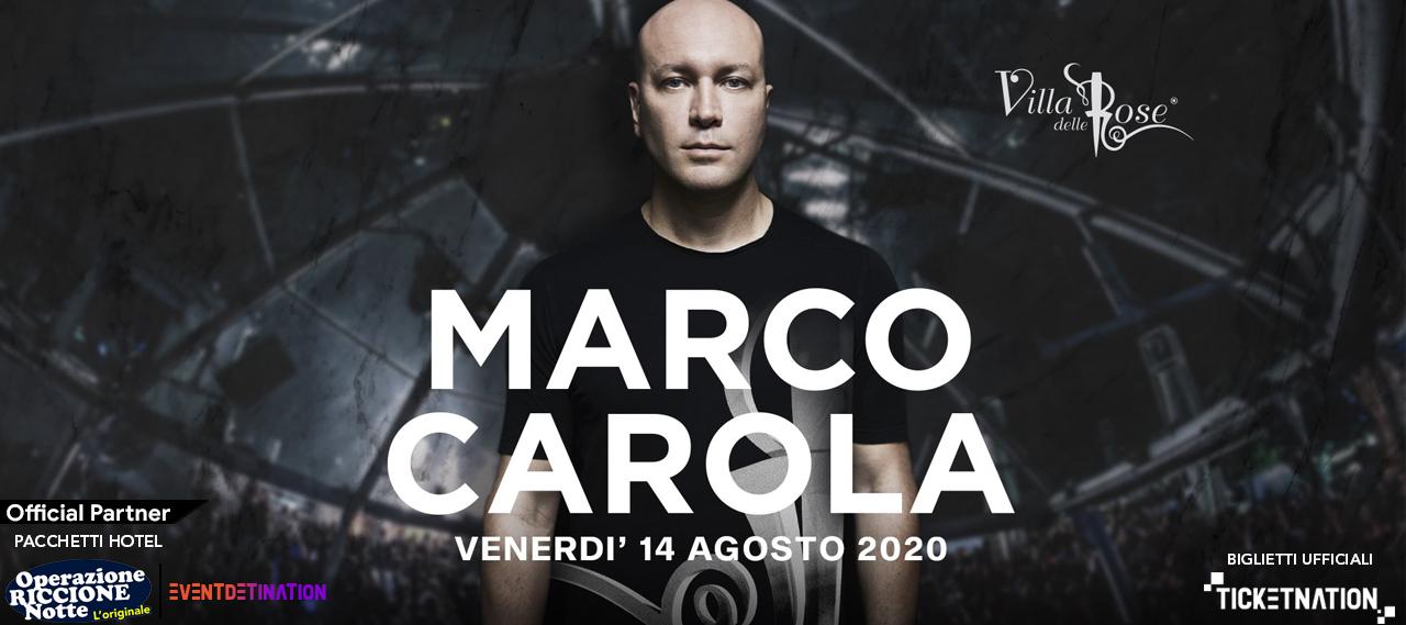 Marco Carola Villa Delle Rose Venerdì 14 Agosto Ticket – Biglietti 18app – Tavoli e  Pacchetti Hotel