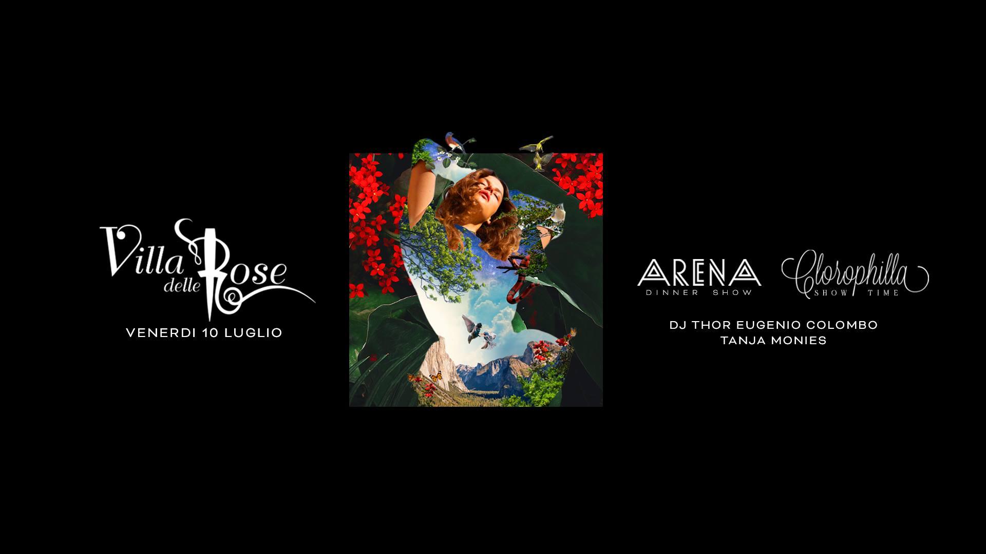 clorophilla villa delle rose Venerdì 10 Luglio