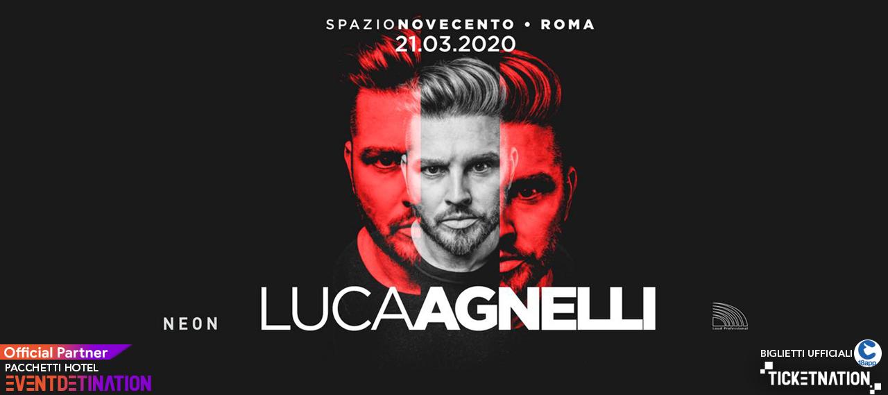 Luca Agnelli at Spazio 900 Novecento Roma Sabato 21 03 2020 – Ticket Biglietti 18App Tavoli e Pacchetti Hotel