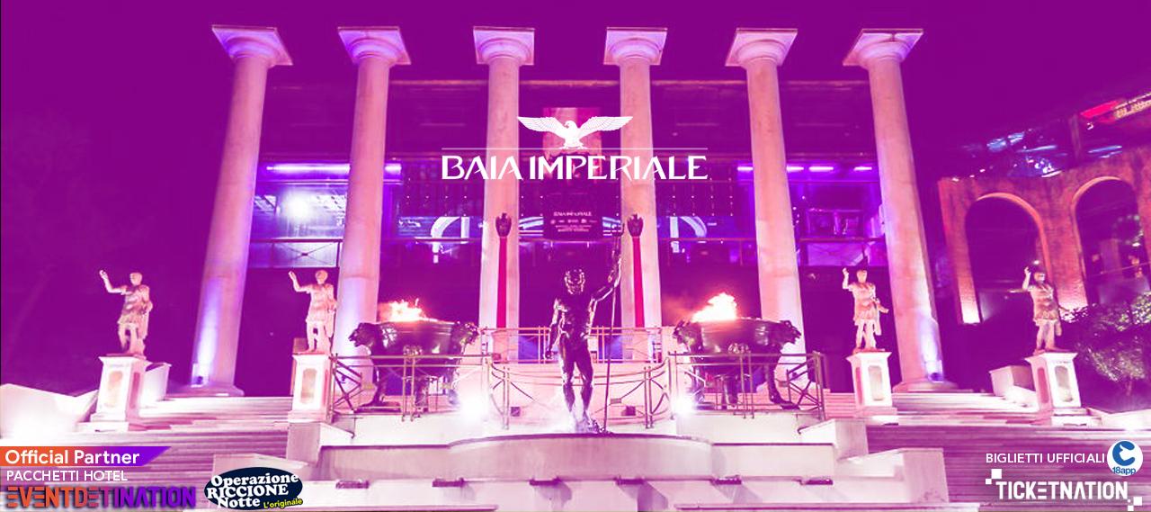 notte rosa baia imperiale riccione