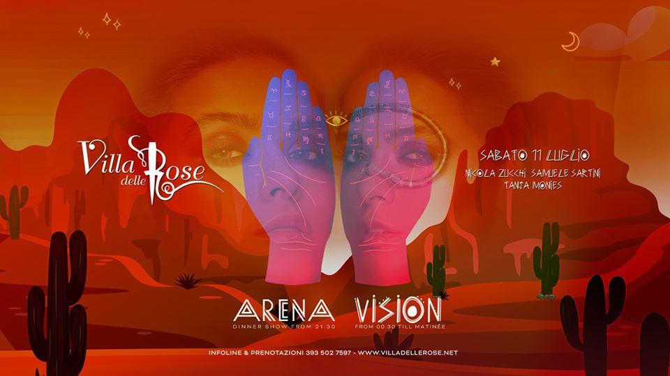 vision villa delle rose sabato 11 luglio