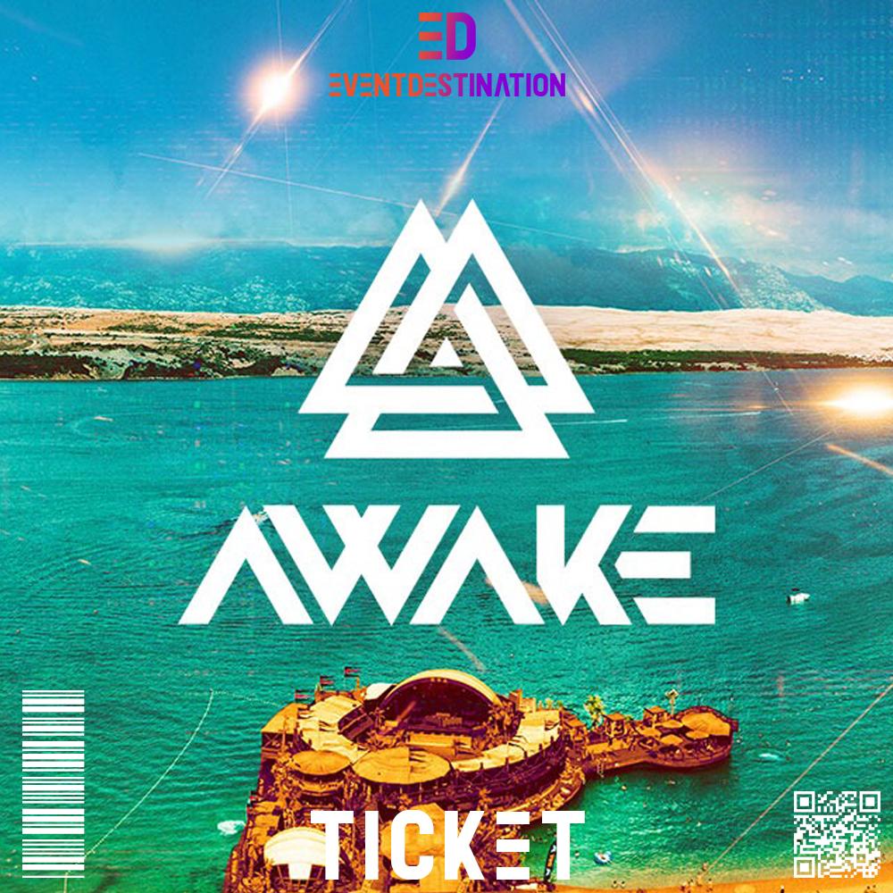 Ticket Awake Festival 2020 Zrce Beach Pag