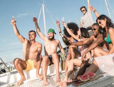 festa in barca riccione rimini sea discovery 3