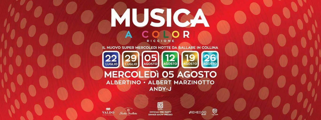 Albertino | Albert Marzinotto at Musica Riccione Mercoledì 05 Agosto Ticket – Biglietti – Tavoli e  Pacchetti Hotel