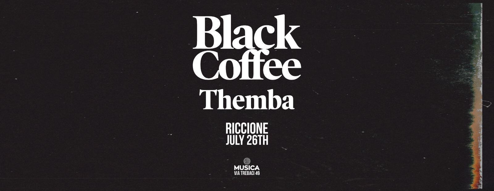 black coffee musica domenica 26 luglio