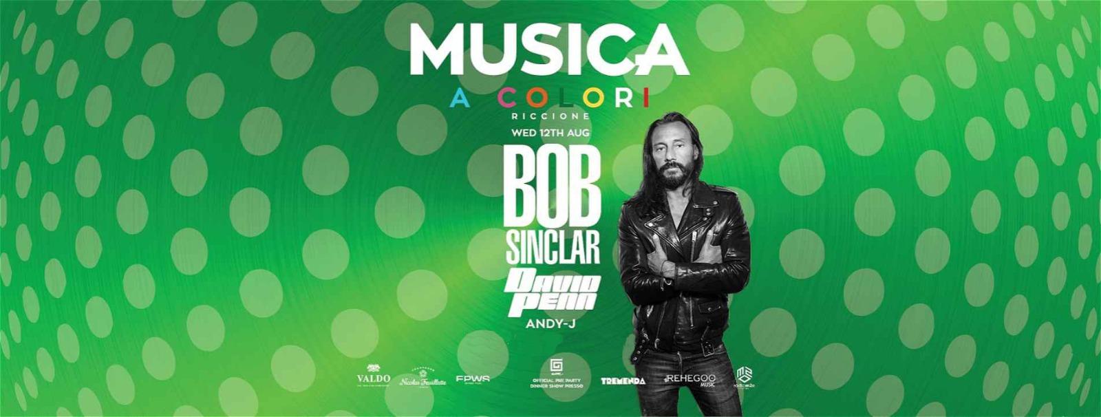 bob sinclair musica mercoledì 12 agosto