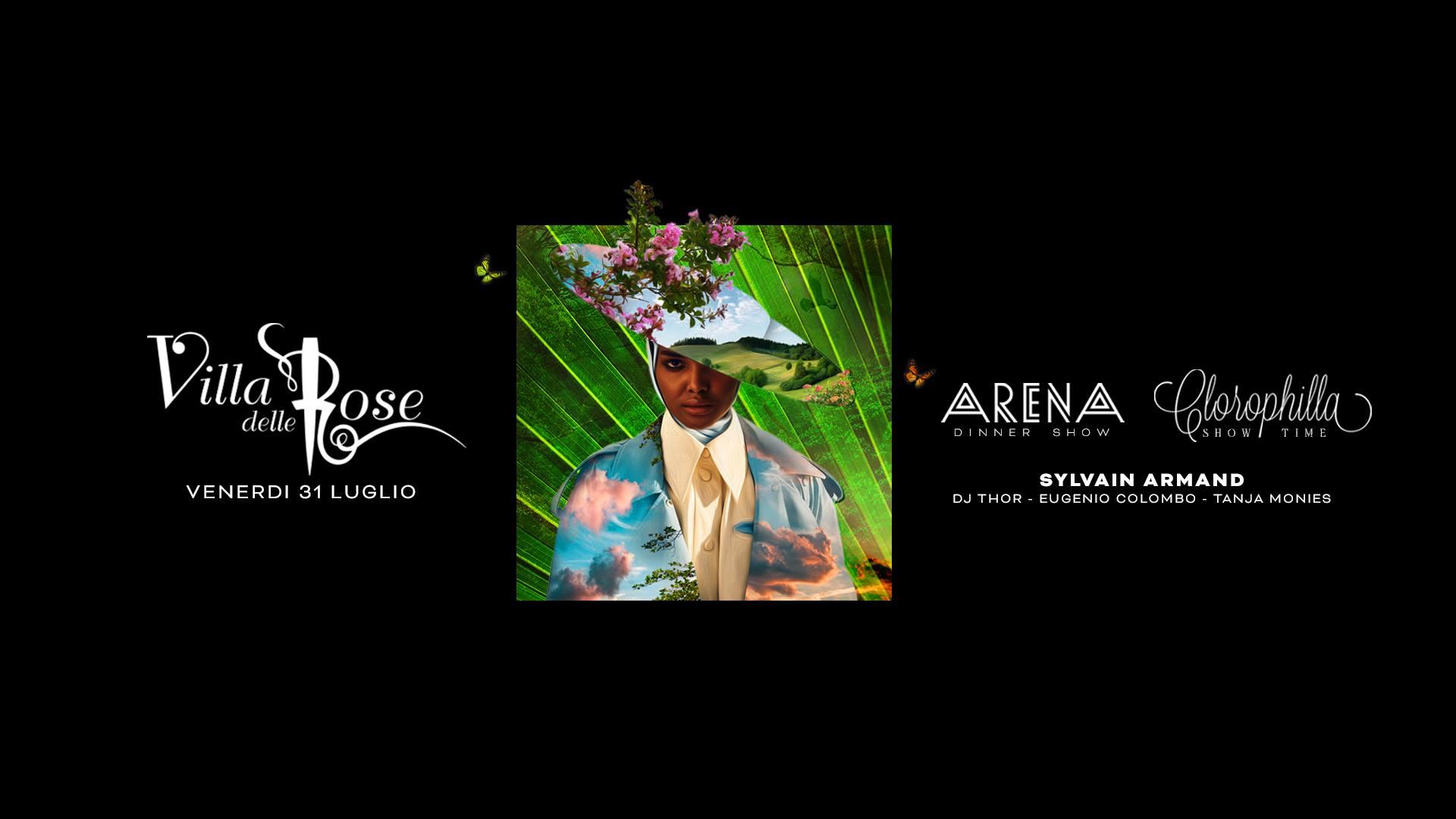 clorophilla villa delle rose venerdì 31 luglio