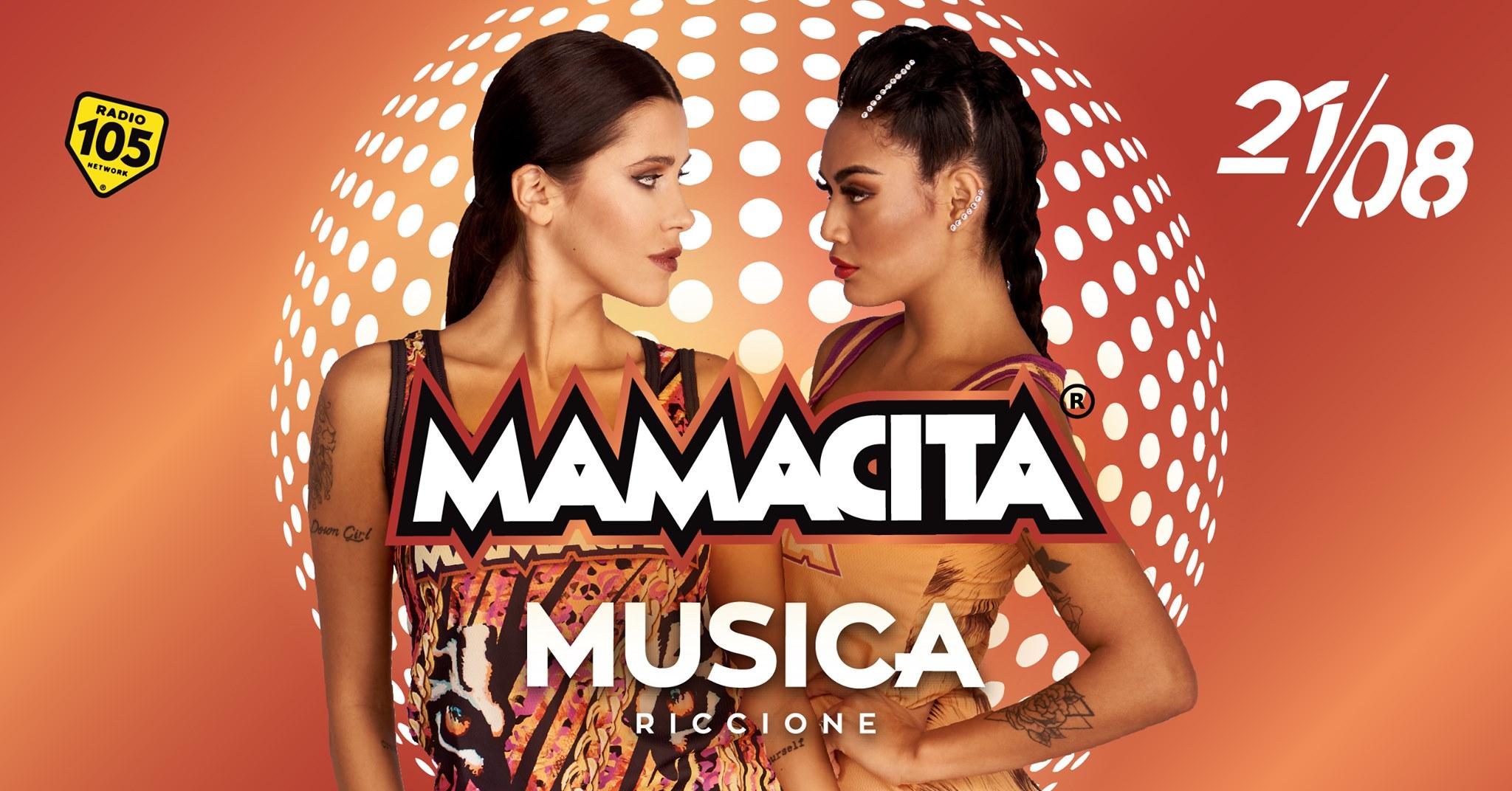 mamacita musica venerdì 21 agosto