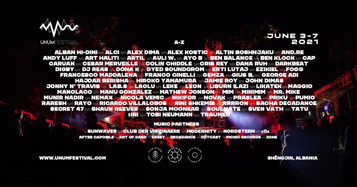 unum festival 2021