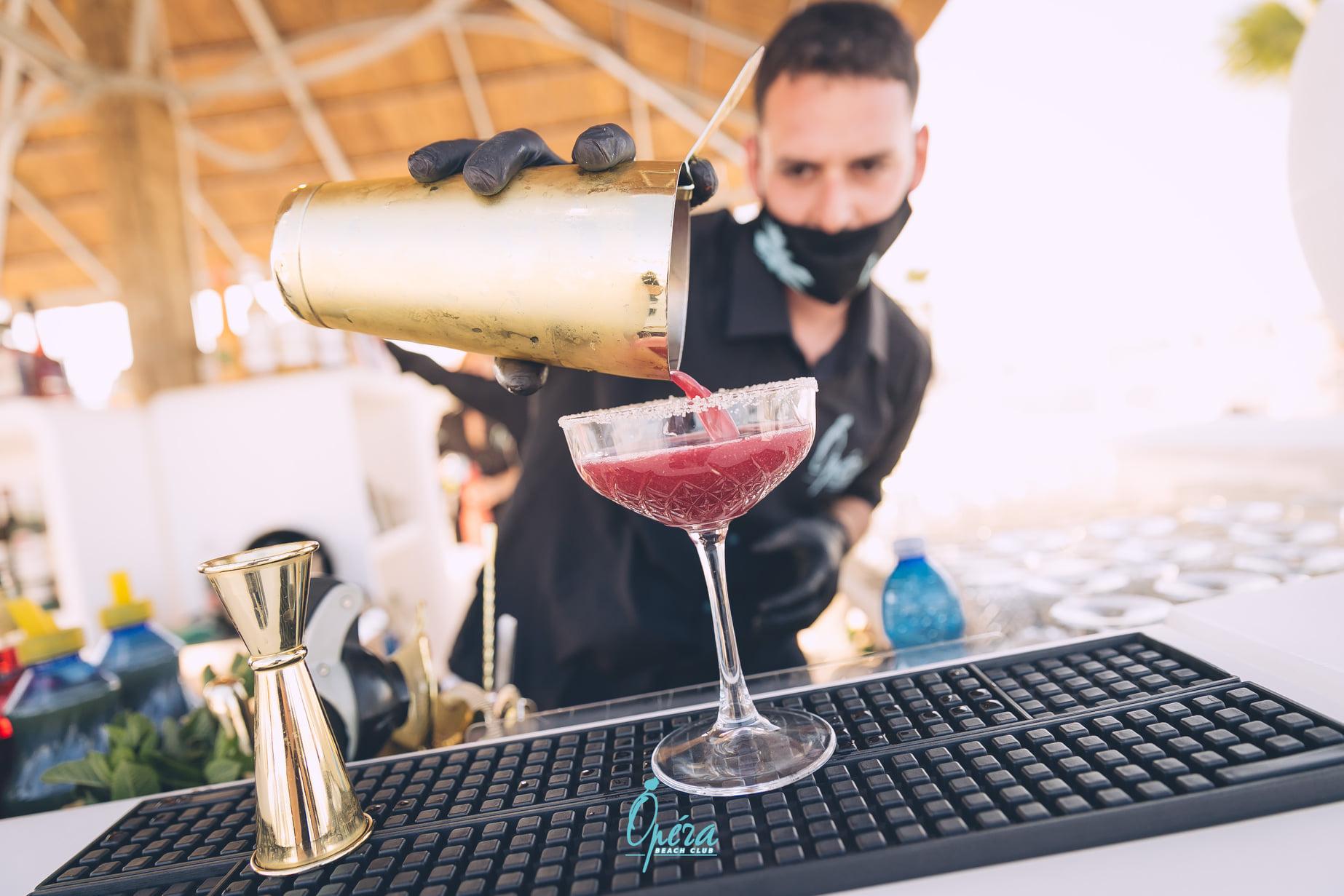 Operà Beach club, bar