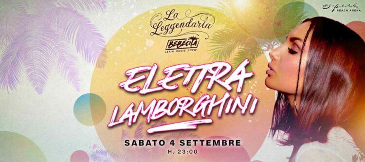 Elettra Lamborghini Opera Beach Arena 04 09 2021 Ticket