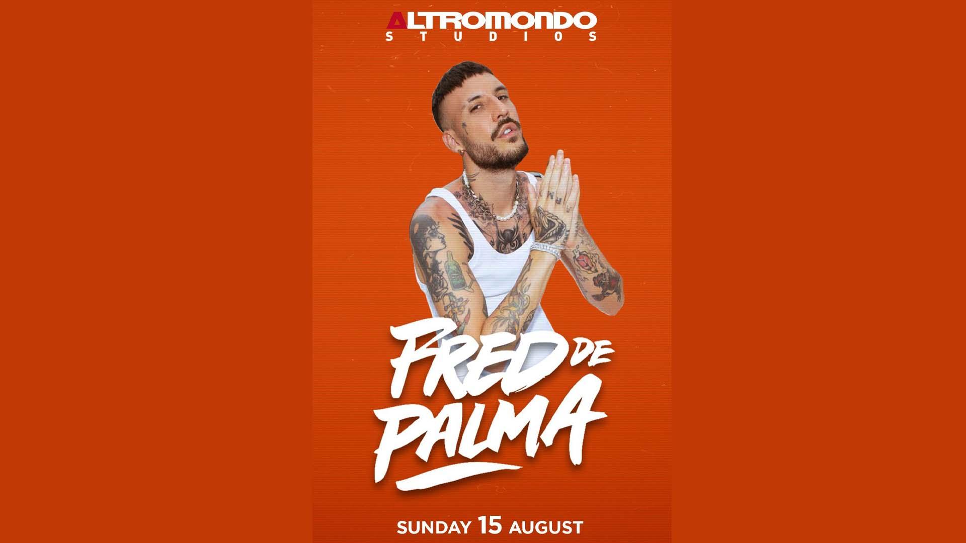 FRED DE PALMA ALTROMONDO STUDIOS 15 08 2021