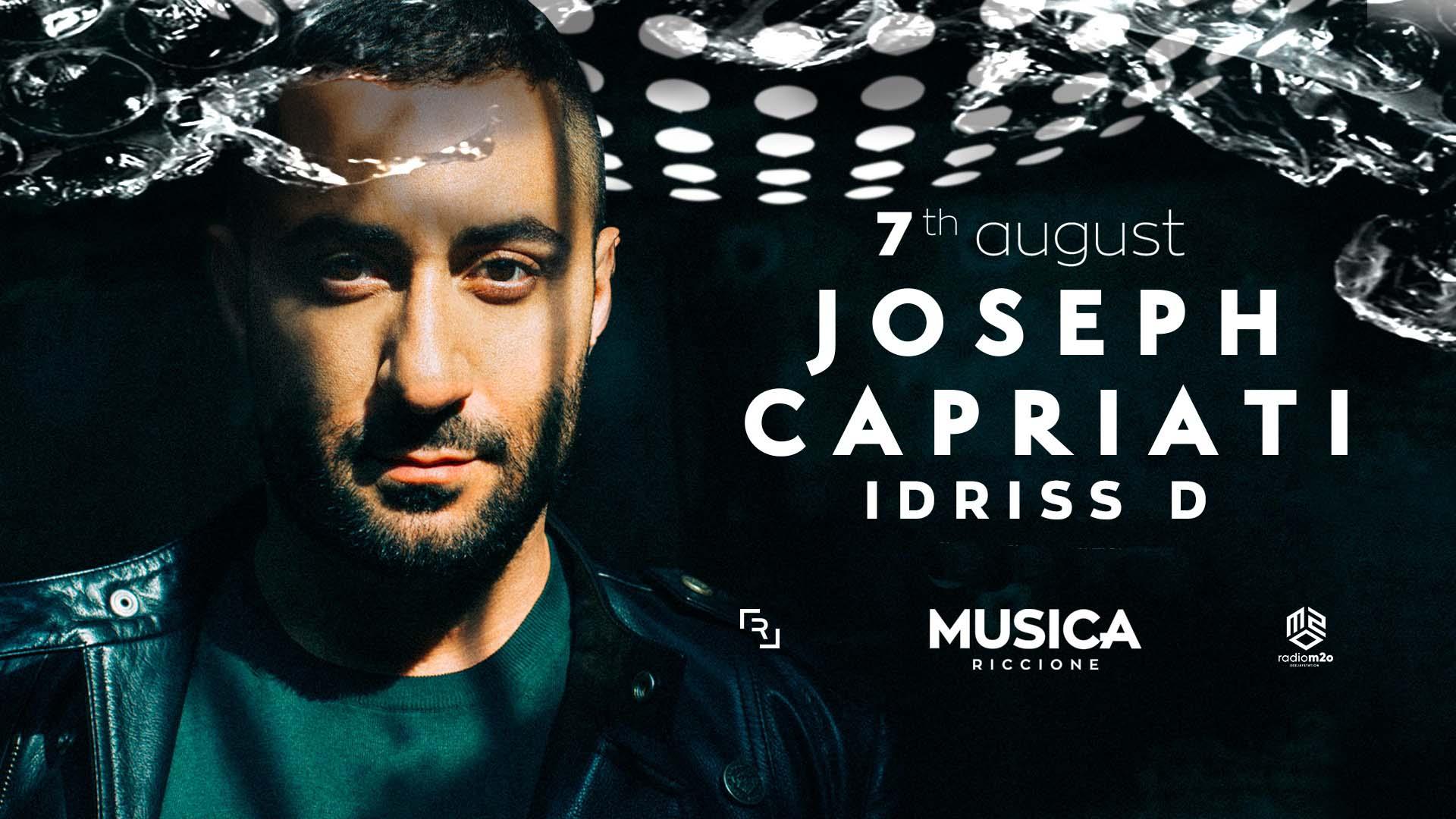 joseph capriati 7 agosto 2021 musica