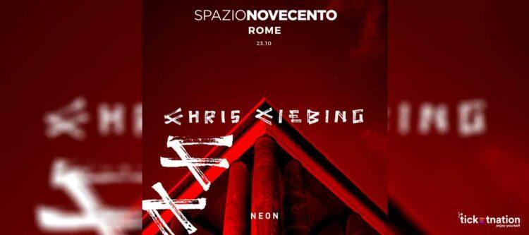 Chris Liebing Spazio Novecento 23 10 2021