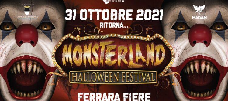 Monsterland Halloween Festiva 2021 Ferrara Fiere